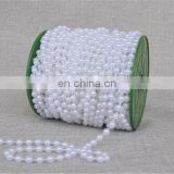 25M/roll 6mm DIY Artificial Pearls Beads Chain Garland Flower Bridal Wedding Floral Decoration
