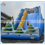2016 New outdoor inflatable slide for kids,inflatable amusement park slide,giant inflatable slide for sale