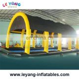 Inflatable Pool Tent / Newest Rectangular Inflatable Swimming Pool Cover