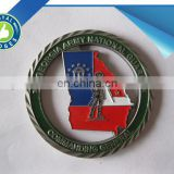 Custom cut out military replica coins