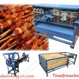 High Productivity Bamboo Wood BBQ stick machine Complete Make Line