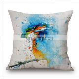 bb custom printing cushion covers case pocket spring for sofa cushion