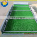China Supplier Widely Used Economic Gold Sluice Plant for Course Gold Recovery with Gold Sluice Grass Carpet Mat on It