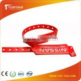 LF/HF/UHF Disposable Paper/PVC Rfid Wristband / Bracelet for Hospital