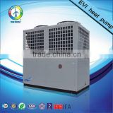 factory price 20 years warranty EVI heating indurstry hot water heating heat pump with solar collector for heating and cooling