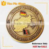 map coin memorial coins honor coins antique gold coin custom challenge coin