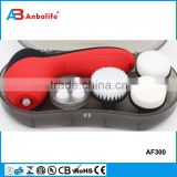 Deep Clean Skin Care Equipment Scrubber Battery Operated Facial Cleansing Brush