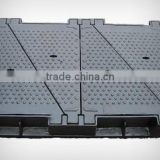 four triangle ductile iron manhole cover