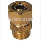 LL320012 easy installation brass quick connect fittings for water