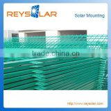 Horizontal Wire Mesh Fence Galvanized Steel Sturdy and Durable Fence Net for Solar Plant