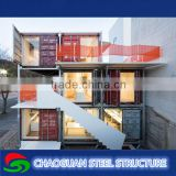 Economic sandwich panel prefab light steel container house,cheap modular container home for sale