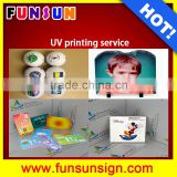 Glass PVC board glass printing services customized and convenient by A3 UV flatbed printer high printing quality