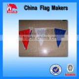 Custom Pure Color Bunting Advertising Banner Flags