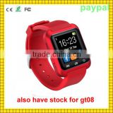 Android 4.4 gt 08 k18 smart watch camera single sim