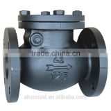 double flange swing check valve(ansi class 125/150 )
