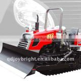 60HP farm steel CRAWLER TRACTOR,diesel engine,with ROPS,BLADE,rear suspension,agriculture machine.