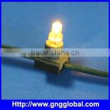 DC12V strawhat led pixel light with high quality good price led string