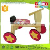 2015 High Quality Solid Wood Toy Kids Wooden Tricycle for Sale                                                                         Quality Choice