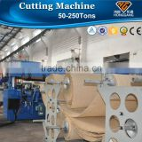 two-side auto-feeding hydraulic automatic die cutting machine                                                                         Quality Choice