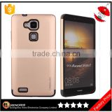 Fashion Hybrid phone case For Huawei Mate7 TPU & PC 2 in 1 protective mobile back cover for wholesale