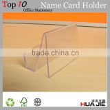 Office supplier clear business name card holder