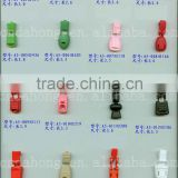 Plastic Cord End Clips, Cord Locks for travelling bag, handbag and clothing