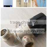 "china supplier 1/2"" brass water heater thermostatic mixing valve (temperature control valve)"