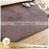 Wholesale alibaba Ultra soft elastic memory foam entresol bathroom carpet mat , carpet floor mat