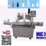 MIC-R45 Automatic 10ml bottle filling machine e liquid machine volumetric liquid filling machine