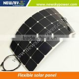 semi flexible solar panel adhesive thin film flexible solar panel flexible solar panel 12v