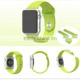 BST 2016 Beat selling !! silicone band for apple watch, Watch Strap Band for Apple Watch Band 38mm 42mm