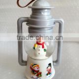 2015 Resin Snow Man Latern Design Led Handmade Christmas Snow Globe by China Supplier                                                                         Quality Choice