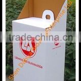 High Quality Eco-Friendly Large Capacity Cardboard Trolley/Exhibition Gift Box/Cardboard Trolley Suitcase