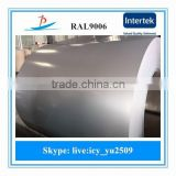 RAL9006/9003 prepainted galvanized steel coil/gi ppgi coil used in building construction materials from China