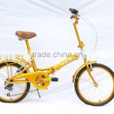 Lightweight Aluminum Frame Foldable Bicycle with Quick-Release Folding and Integrated Safety Mechanism KB-F1643