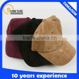 hign quality suede baseball cap and hat man custom hats/ baseball cap                                                                         Quality Choice