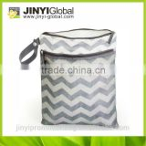 2014 hot sale cosmetic bag with special zipper/mesh zipper pouch, small plastic mesh bag