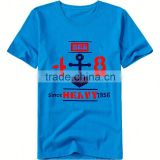 free design factory cheap wholesale sea pirate pattern t-shirt wide neck men high quality hot selling