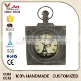 Highest Quality Craft Art Mdf Parking Clocks Zone Wall Clock