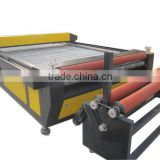 Low cost laser cutting machine with 100w laser tube textile fabric cutter laser                                                                                                         Supplier's Choice