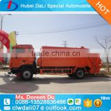 New 10 cbm waste management garbage truck collection compressed transport waste disposal truck