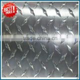 aluminum 1000 series checkered plate for bus floor plastic tread plate