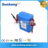 Certificated 18650 4400mah 12v heating vest battery
