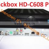 Black Box HD-C608 Plus 2014 newest Singapore hd cable receiver with wifi can watch HD channels