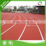 Widely use synthetic rubber running track for primary school