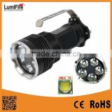 Lumifre 3100 New Arrival 5*XML T6 Led Bulb 2500LM 18650 High Power Aluminum Rechargeable LED Flashlight