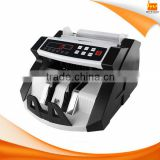 Financial equipment value money bill cash counter machine with MG UV detection