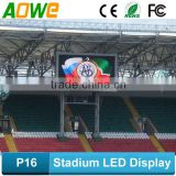P16 outdoor led stadium tv screen/xxxvideo led stadium display
