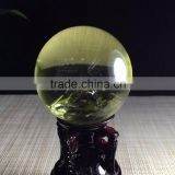 Clear Quartz Crystal Citrine Ball Sphere Pendants For Sale