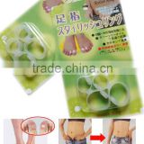 S-SHAPER OEM China Factory Double Rings Slimming Silicone Foot Massage Magnetic Toe Ring